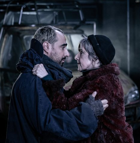 Guy Rhys and Julie Hesmondhalgh in Mother Courage ©The Other Richard