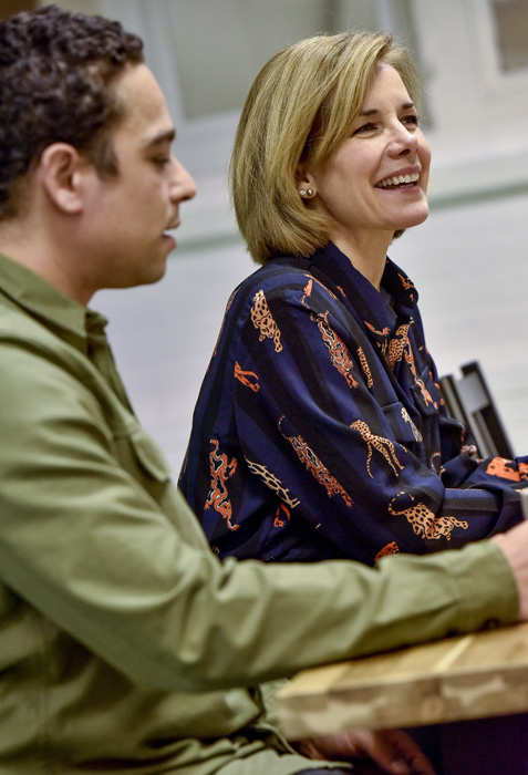 Kevin Edward Turner and Dame Darcy Bussell. Credit: Joel Chester Fildes