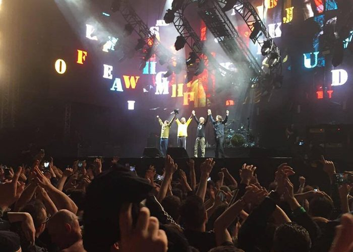 Seeing The Stone Roses live in 2015, a gig that meant so much to me; a defining moment in my life