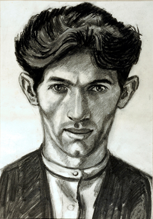 Self-portrait Norman Cornish
