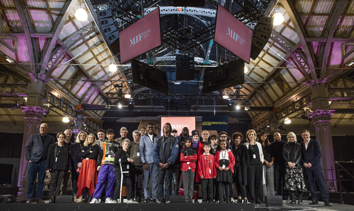 Artists at the MIF programme launch 2019