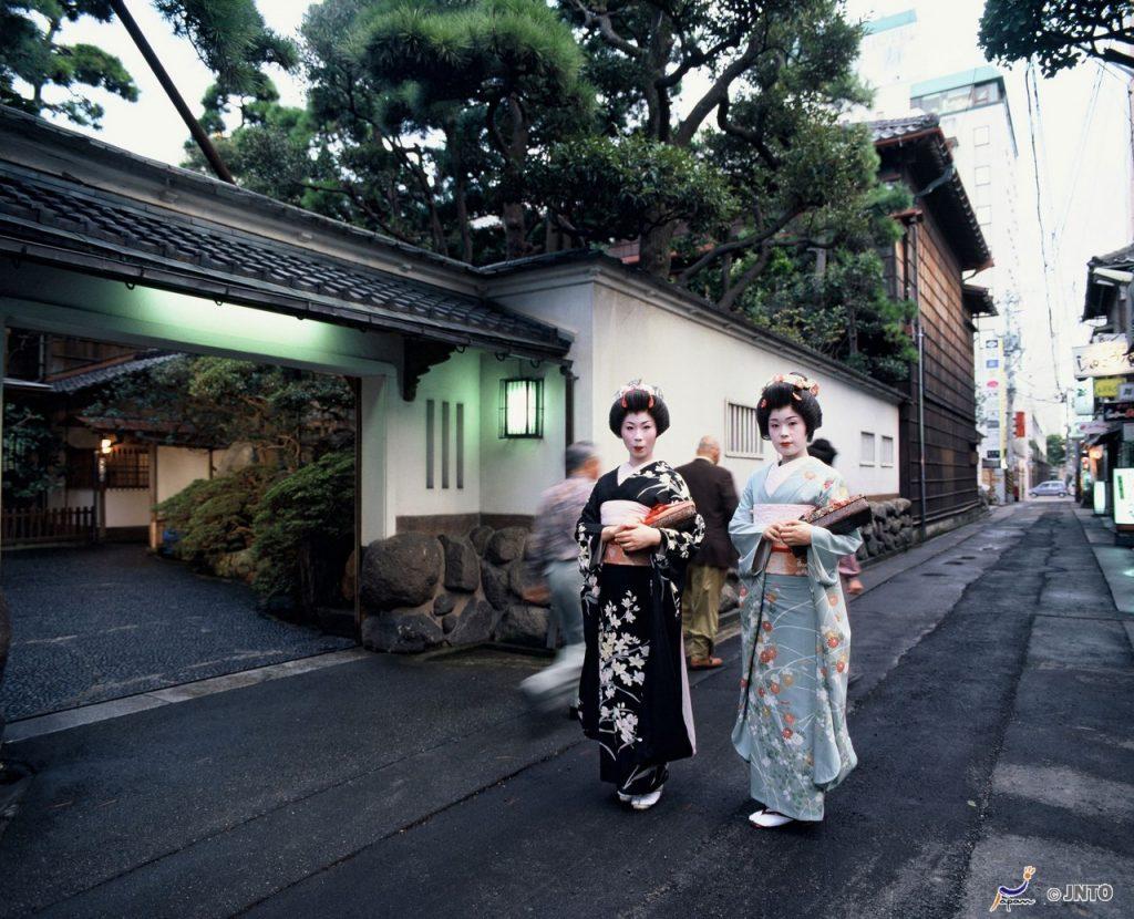 Geiko in Furumachi, Niigata© Niigata Visitors & Convention Bureau/© JNTO