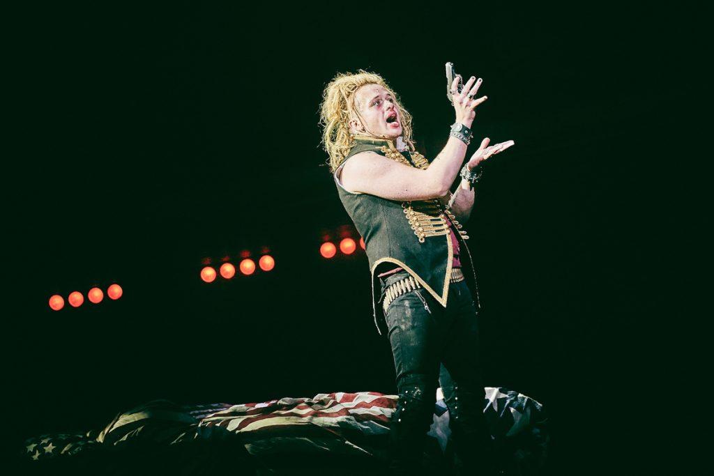 Luke Friend (St. Jimmy) - American Idiot -UK Tour. Mark Dawson Photography