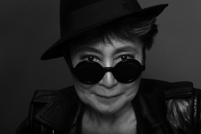 Yoko Ono. Photo Matthew Placek