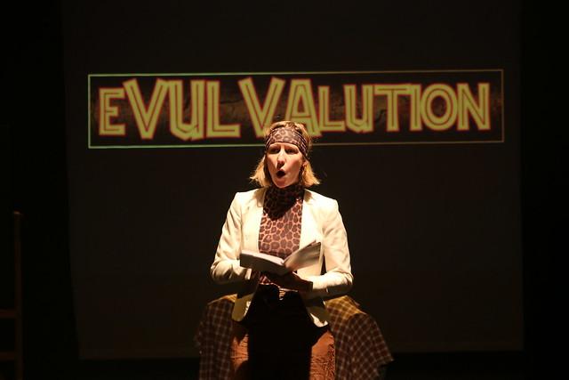 Pamela DeMenthe presents eVULVAlution Photo credit: Rachel Wrigley