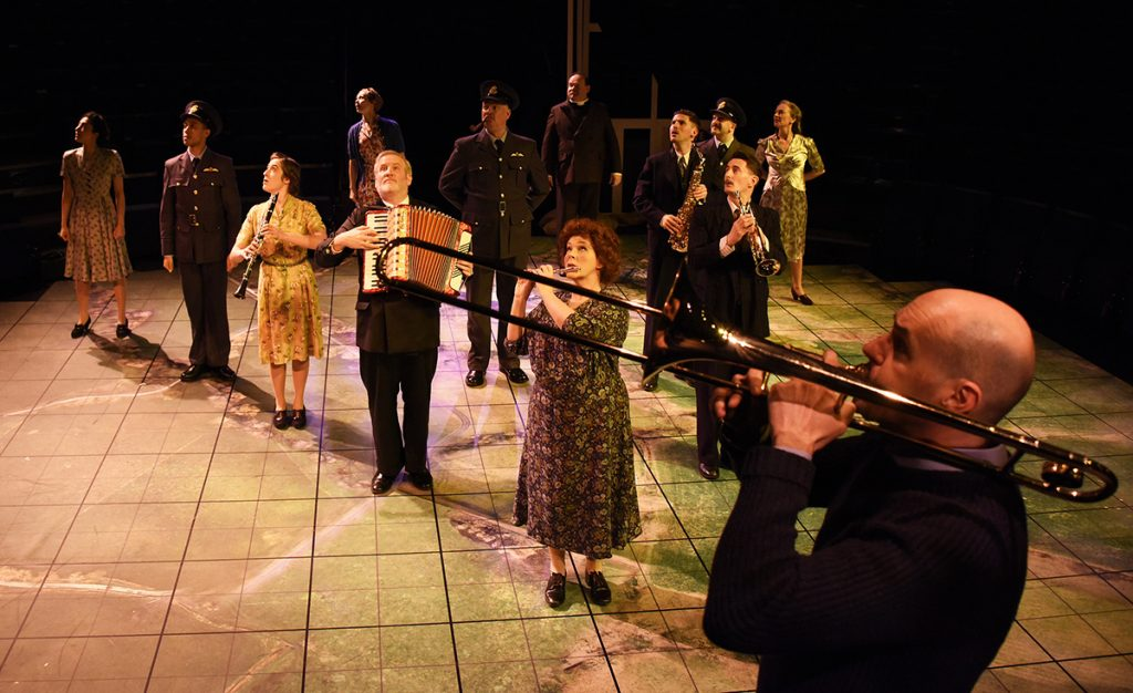 Cast of Northern Broadsides Much Ado About Nothing ©NOBBY CLARK