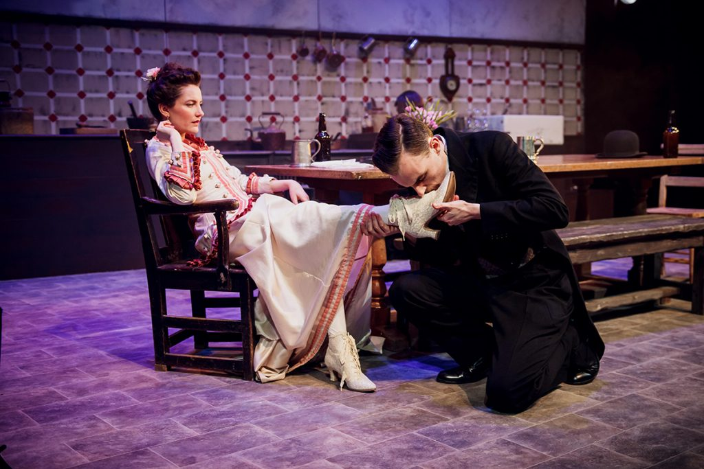 Miss Julie from Elysium Theatre
