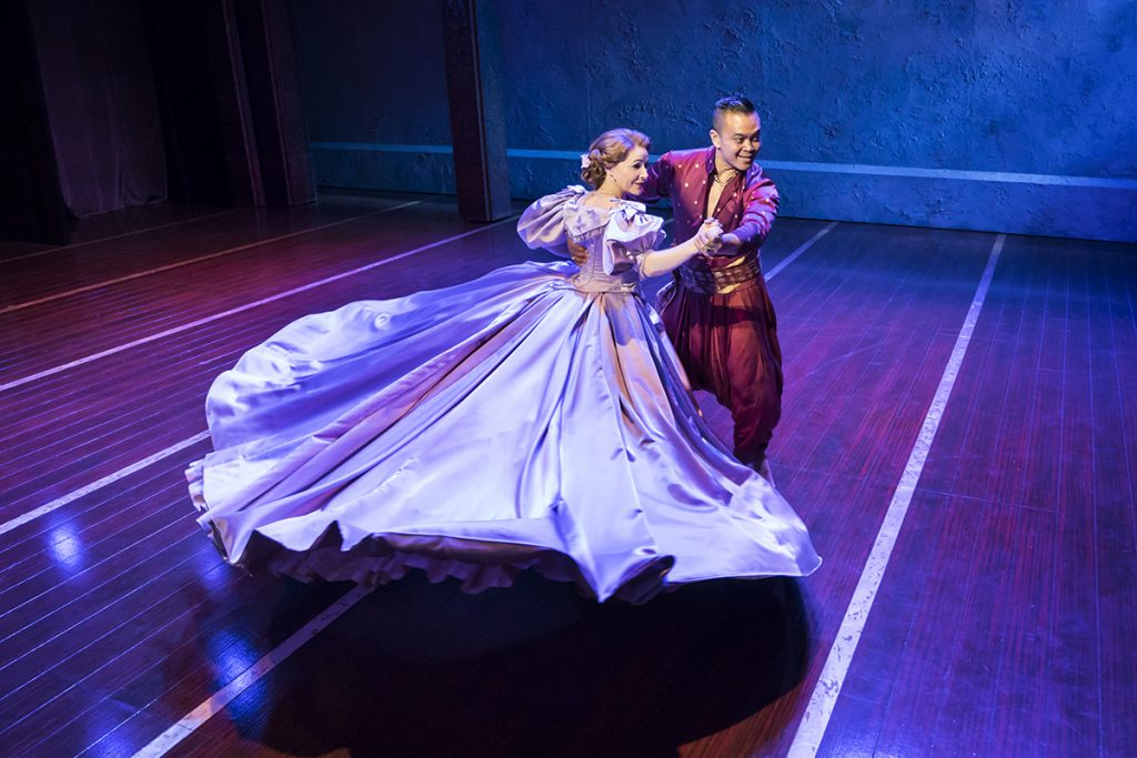 THE KING AND I by Rodgers and Hammerstein. Credit: Johan Persson