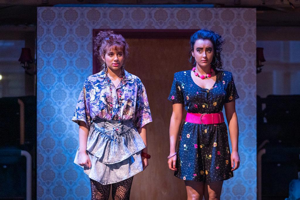 HOBSON'S CHOICE - L-R Safiyya Ingar (Ruby Hobson) & Maimuna Memon (Sunita Hobson) - image Marc Brenner