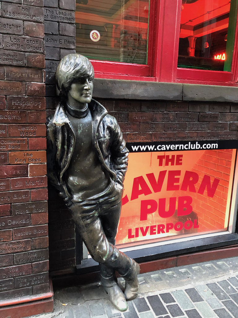 John Lennon statue outside the Cavern Club, Liverpool