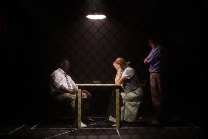 The Exonerated directed by Joseph Houston. Hope Mill Theatre Manchester. Photo Shay Rowan