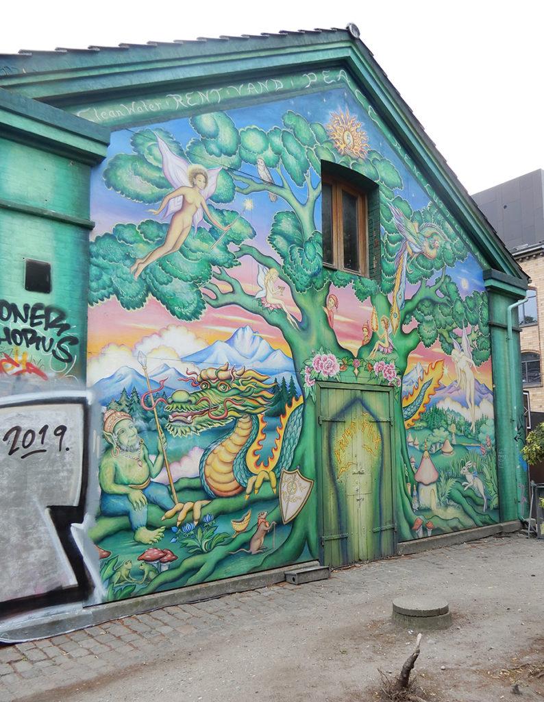 Artwork in Christiania, Copenhagen