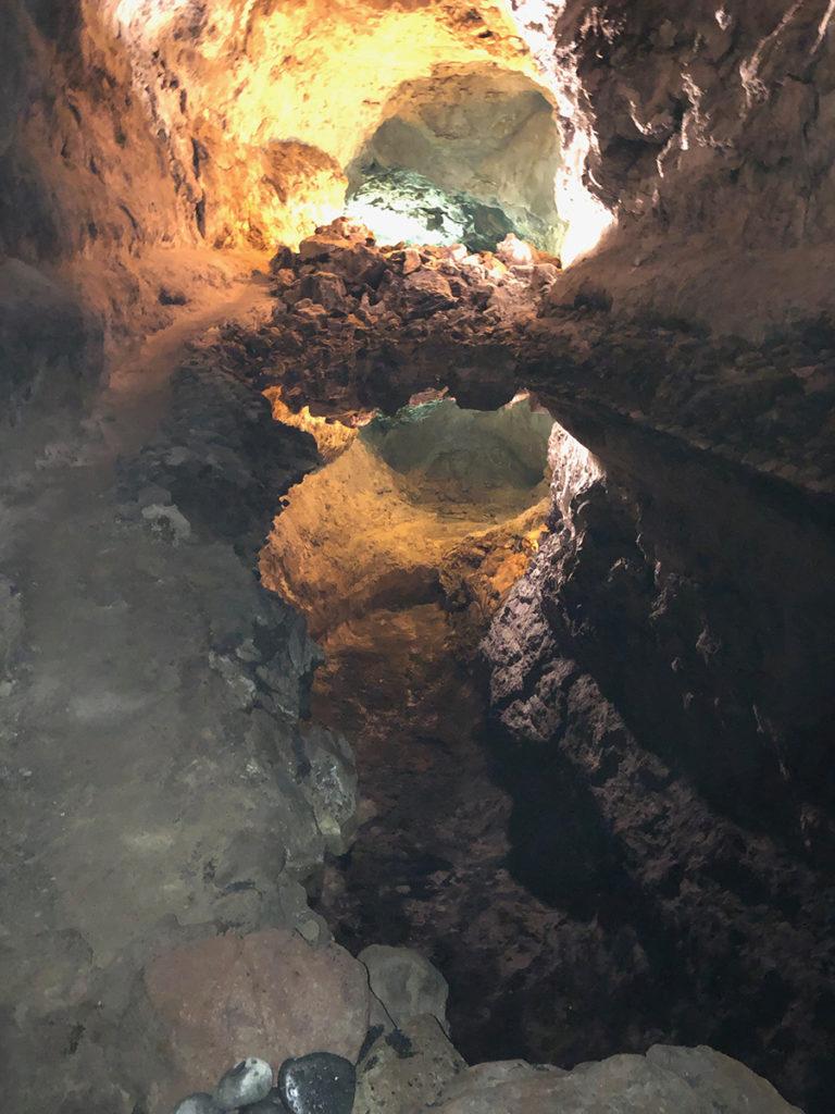 Inside Cueva de los Verdes, Lanzarote