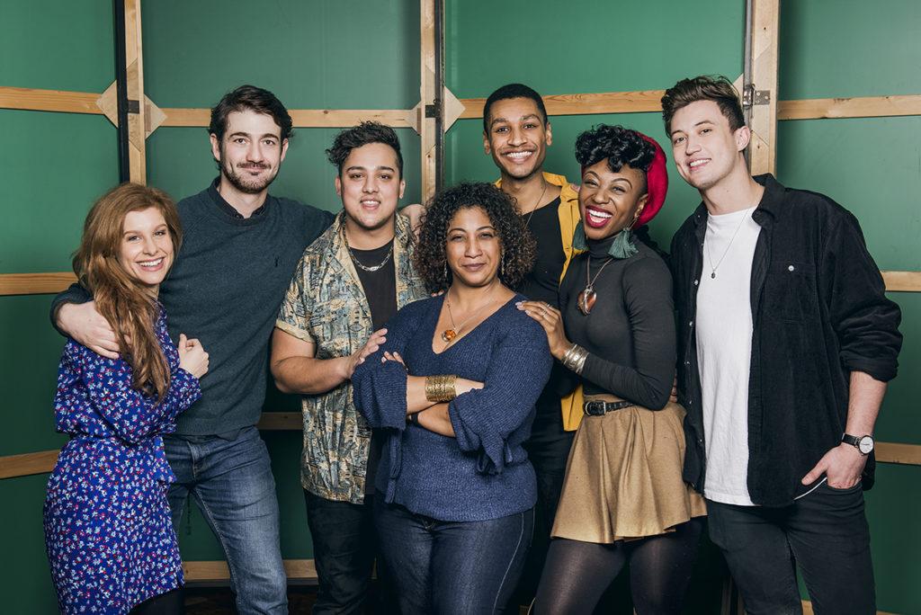 Cast of musical & Juliet