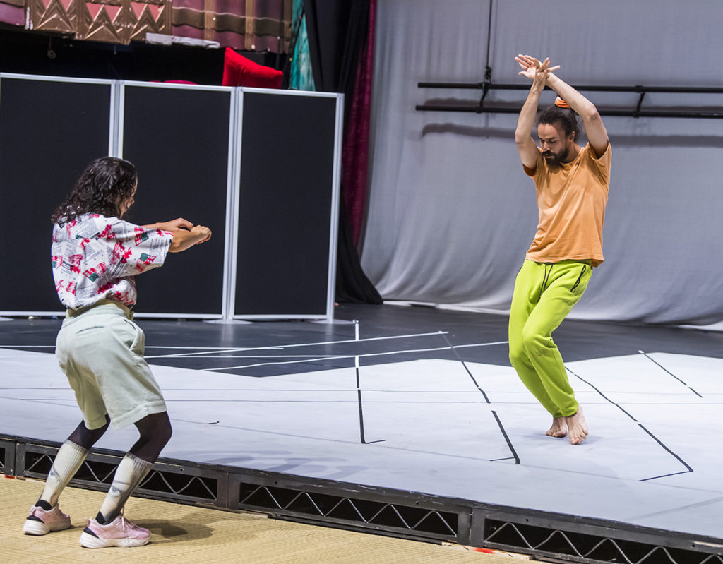 A scene from Maggie The Cat at MIF19 by Trajal Harrel