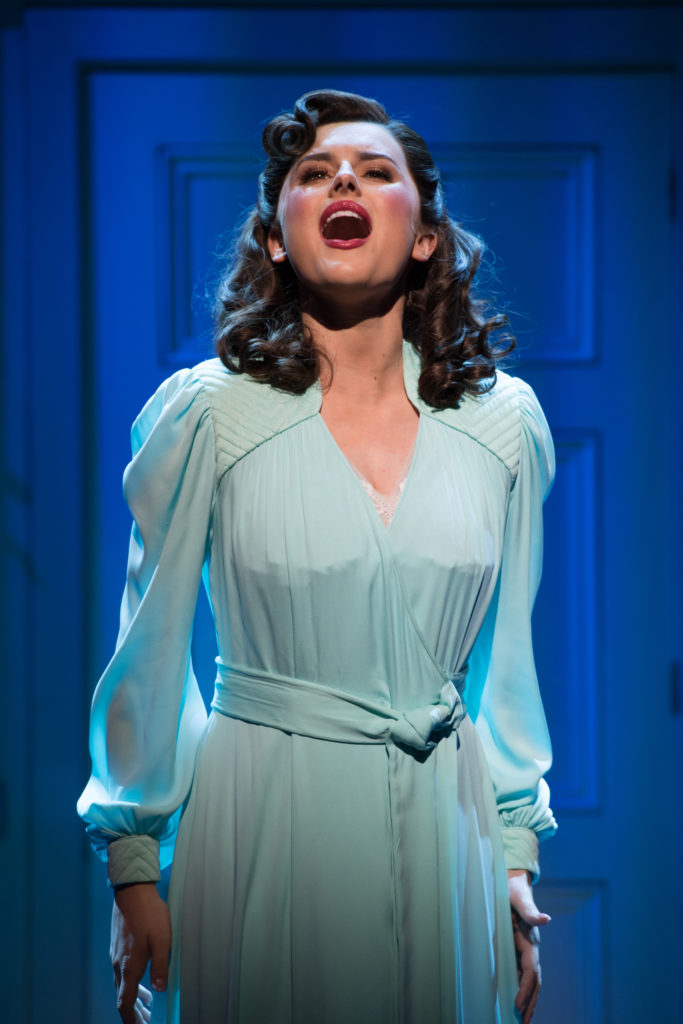 9 TO 5 THE MUSICAL. Amber Davies  'Judy Bernly. Photo Craig Sugden