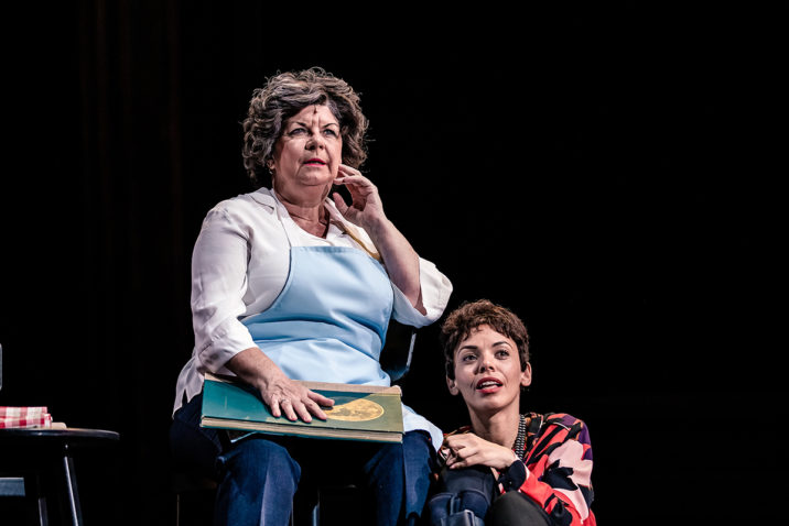 Elaine C. Smith and Sasha Frost in Red Dust Road ©The Other Richard