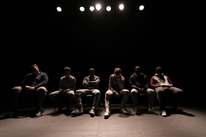 The Jumper Factory - HOME, Young Vic. Photo © Leon Puplett