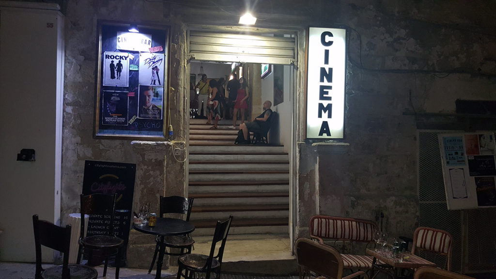 Cinema in Valletta