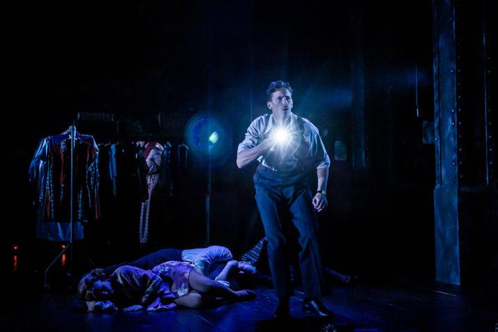 Alan Burkitt 'Bobby Pepper' in Curtains The Musical Credit Richard Davenport