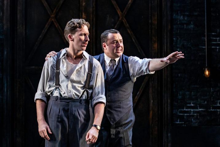 Alan Burkitt 'Bobby Pepper' in Curtains The Musical © Richard Davenport