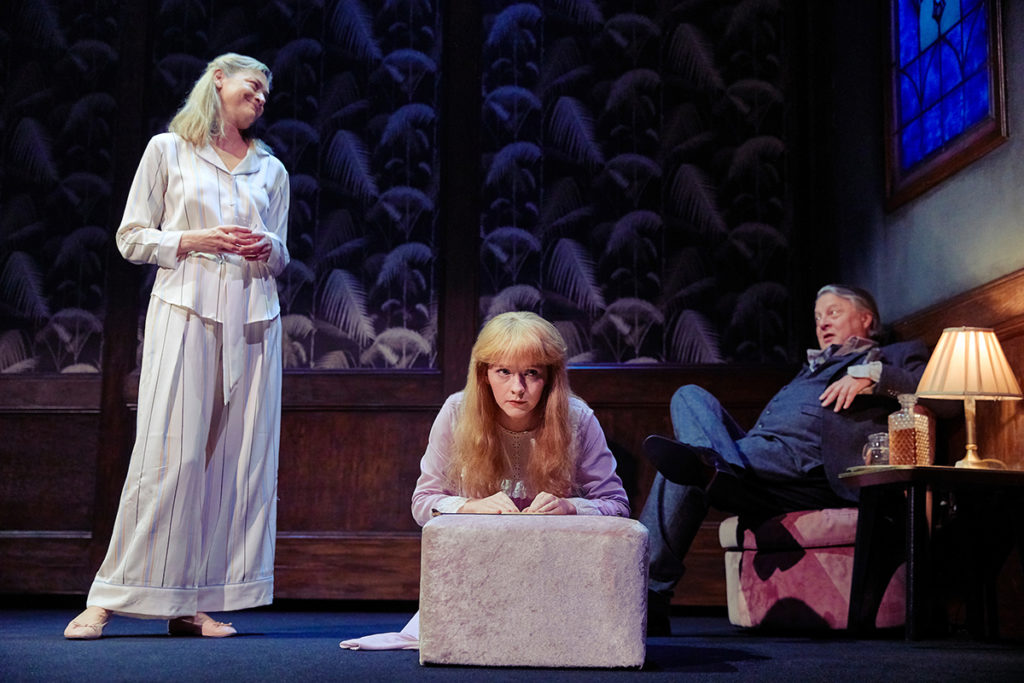 (L-R) Sophie Ward (Chris), Eliza Capel (Regan), Tristram Wymark (Burke) Photo Credit The Other Richard
