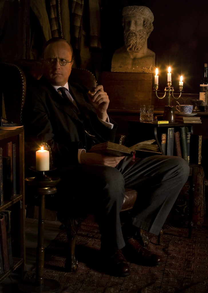 Robert Lloyd Parry as M R James Photo credit Shelagh Bidwell