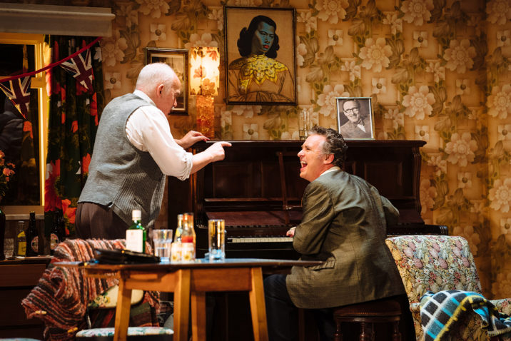 The Entertainer - Pip Donaghy (Billy Rice), Shane Richie (Archie Rice) Credit: Helen Murray