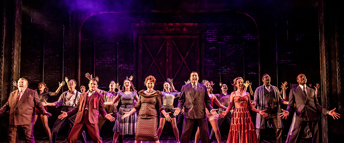 Cast of Curtains. Credit Richard Davenport