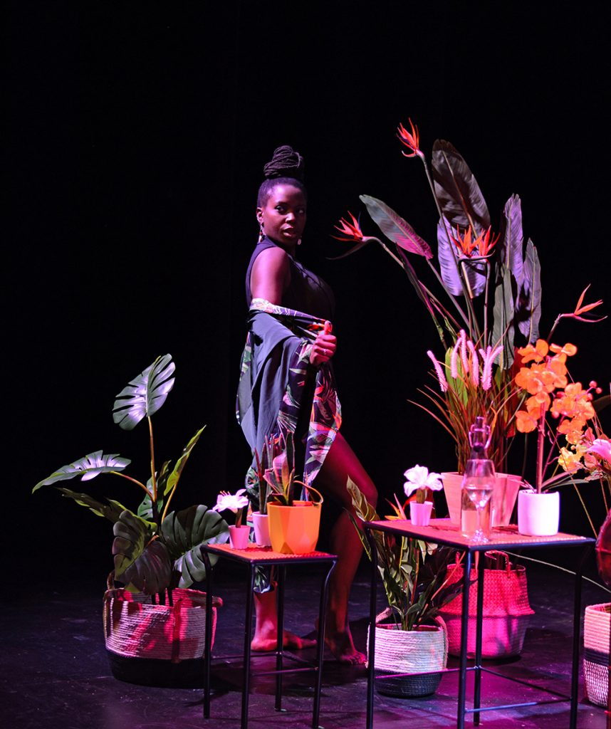 Chanje Kunda in Plant Fetish. Photo by Silk Photography