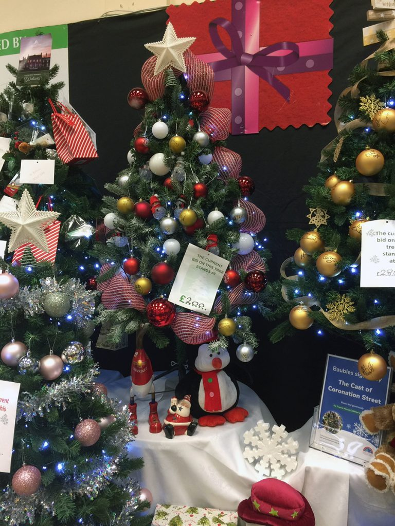 Francis House Festival of Trees 2019 Lowry Outlet