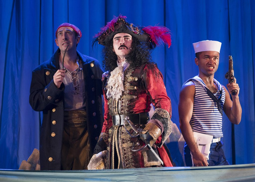 Peter Pan Goes Wrong Photo: Alastair Muir
