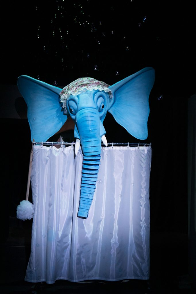 The Slightly Annoying Elephant  - photo by Ellie Kurttz