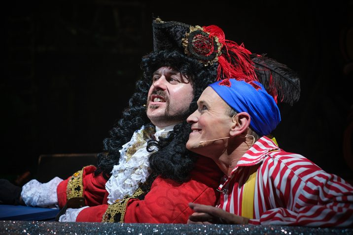 Peter Pan at The Grand Theatre, Blackpool.