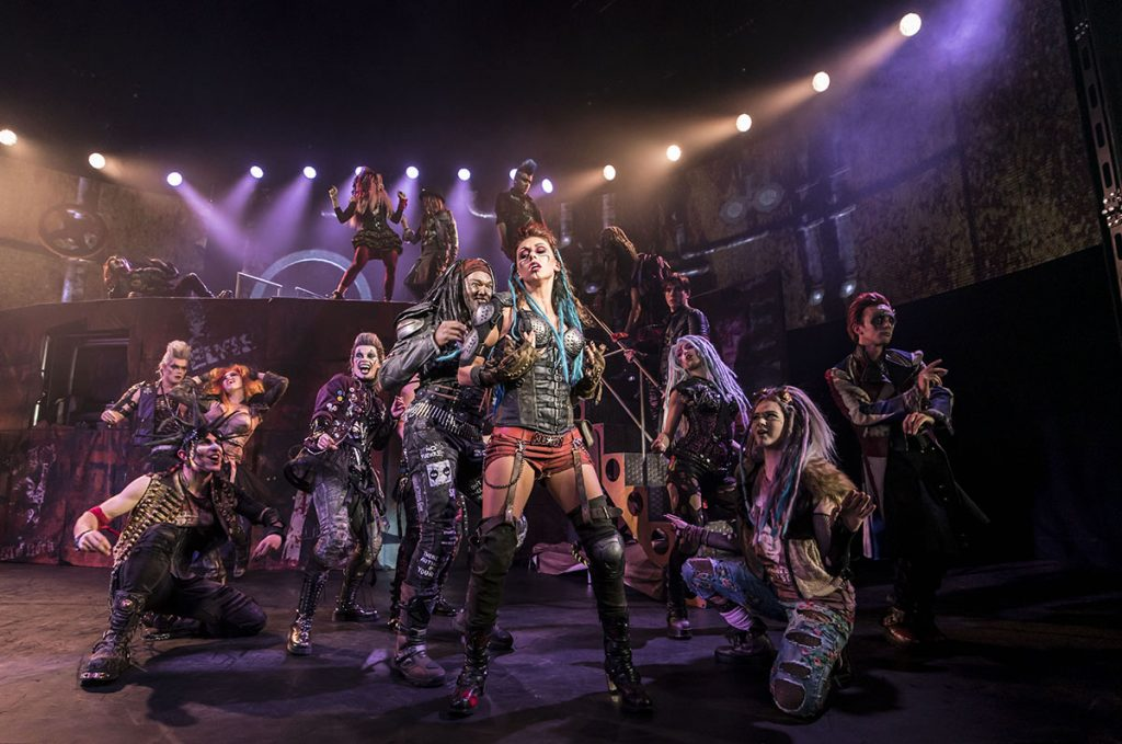 WE WILL ROCK YOU Credit: Johan Persson