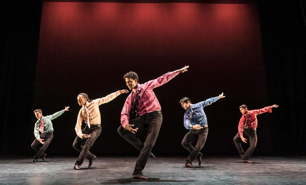 Carlos Acosta with Acosta Danza. Pic by A Droster
