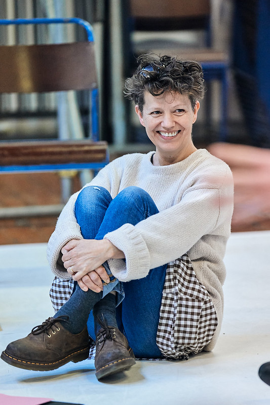 Sally Cookson (Director) in rehearsals for the A Monster Calls UK Tour. Photo credit Manuel Harlan
