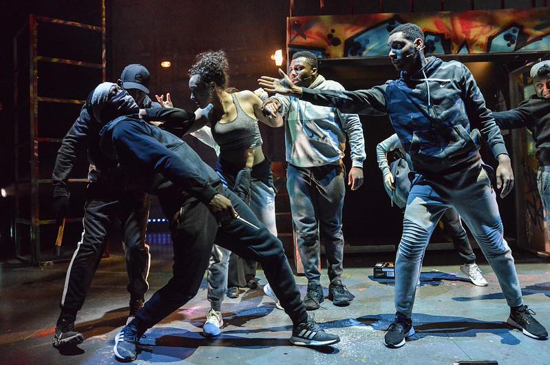 Crongton Knights (l-r) Simi Egbejumi-David, Aimee Powell, Olisa Odele, Khai Shaw and Zak Douglas - photo credit Robert Day
