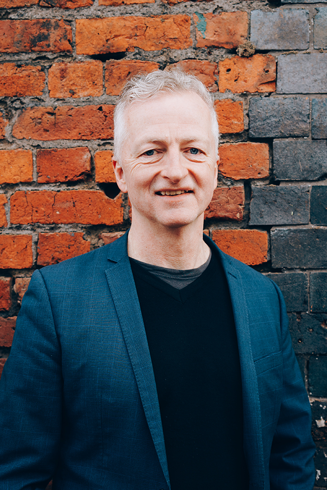 John McGrath, Artistic Director and Chief Executive of Manchester International Festival - image credit Tarnish Vision
