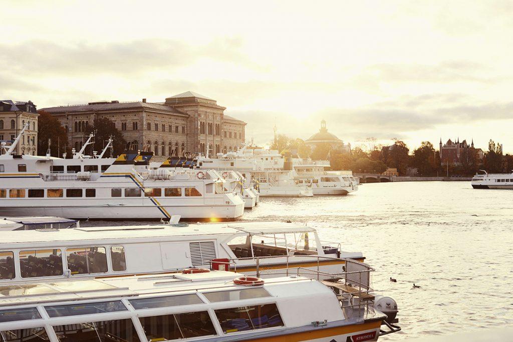 Archipelago boat tours Strömkajen, Blasieholmen, Stockholm Photographer: Helén Pe