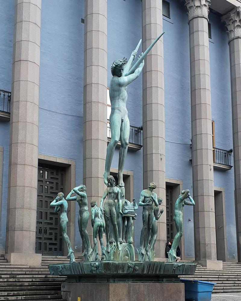 Carl Milles Sculpture - Orpheus