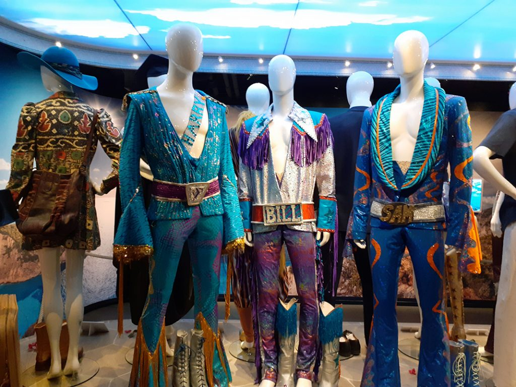 Costumes from Mamma Mia!