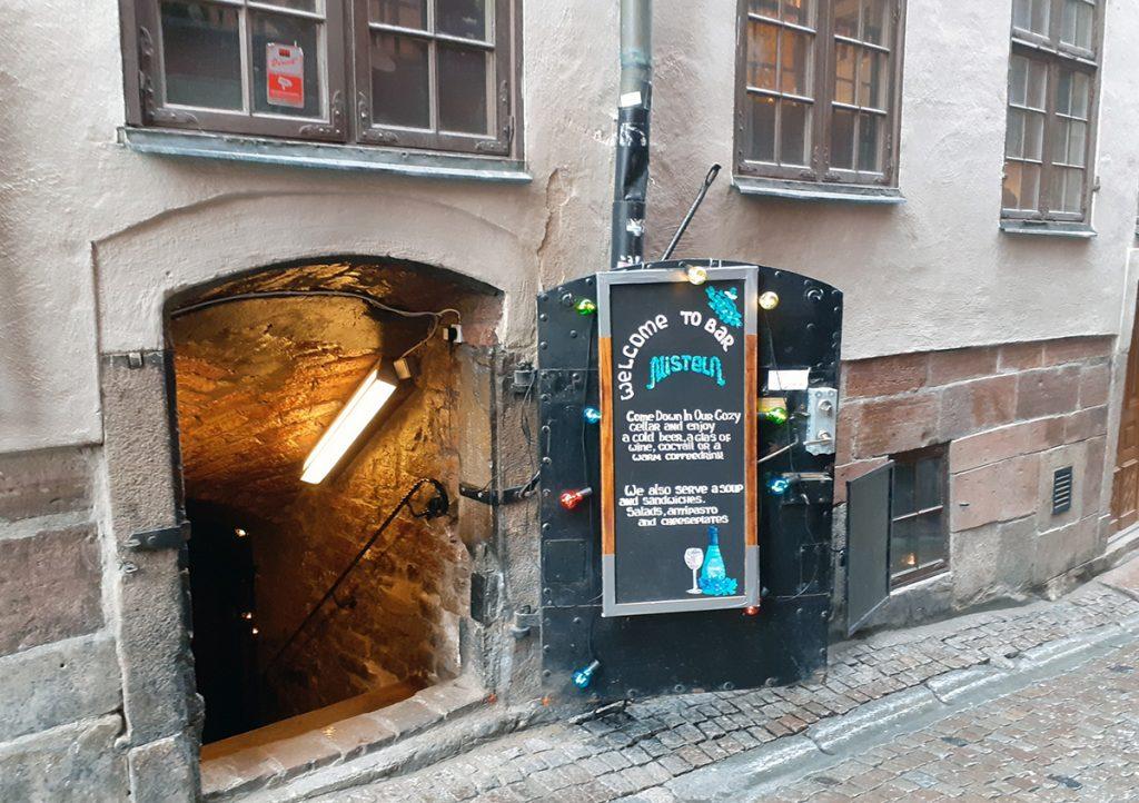 Misteln Skafferi underground bar, Stockholm