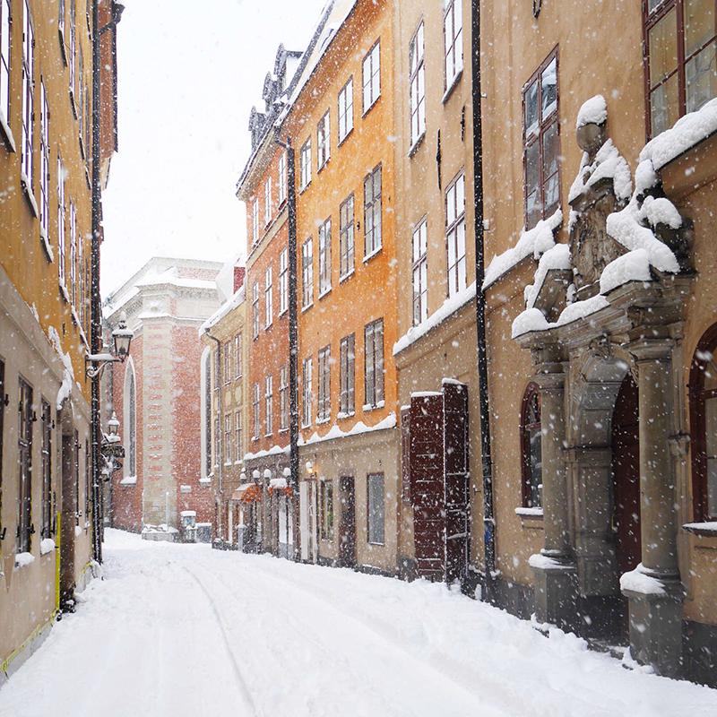 Stockholm's old town, Gamla Stan Photo credit: Visit Stockholm