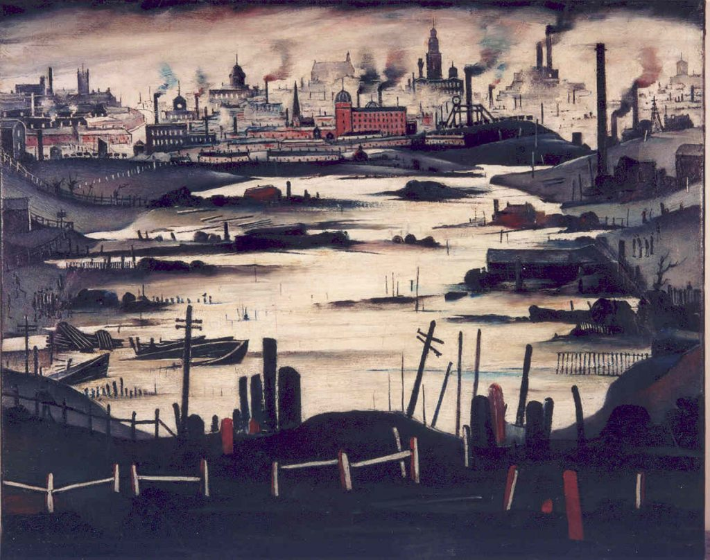 L.S. Lowry, The Lake, 1937