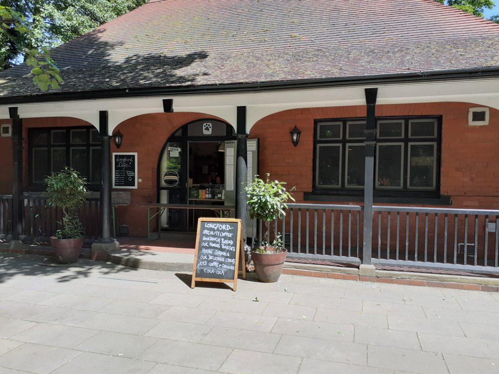 Cafe in Longford Park
