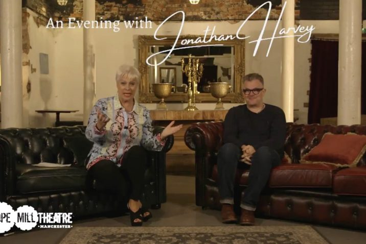 Denise Welch and Jonathan Harvey at Hope Mill Theatre
