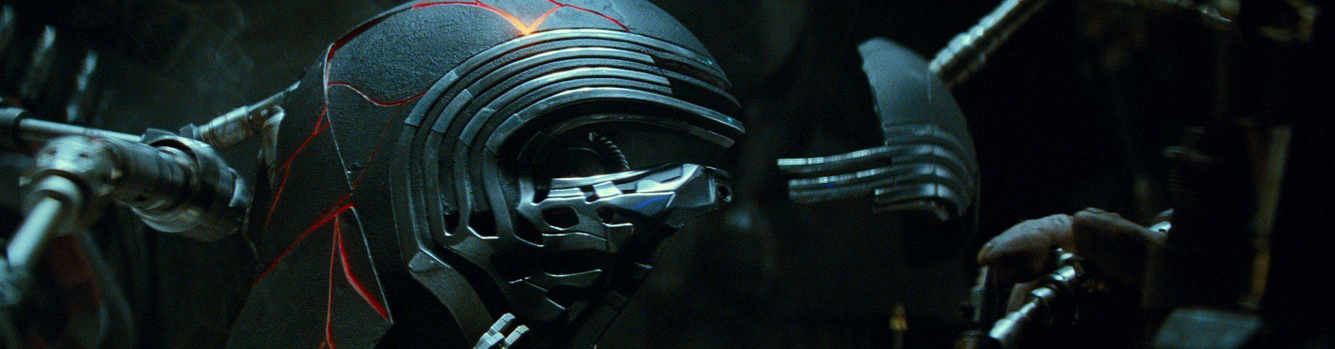 Kylo Ren's restored helmet in STAR WARS: EPISODE IX. Lucasfilm Ltd. (c) 2019 ILM and Lucasfilm Ltd.