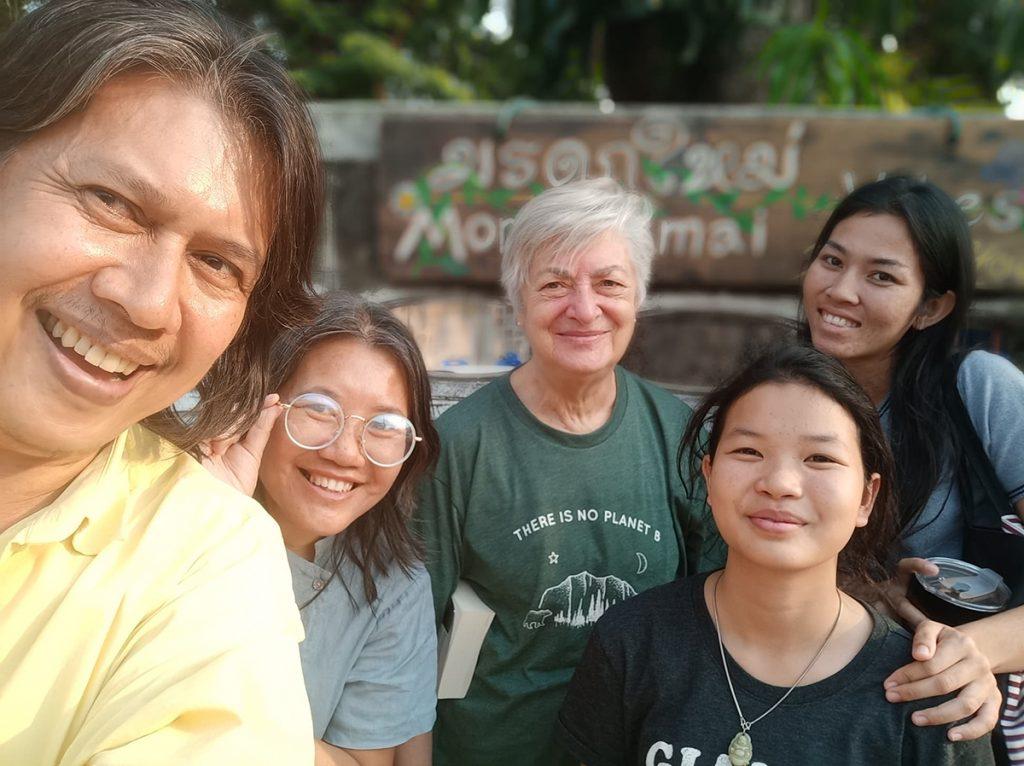 Moradokmai Theatre Community from Thailand : Outside Korat Theatre House