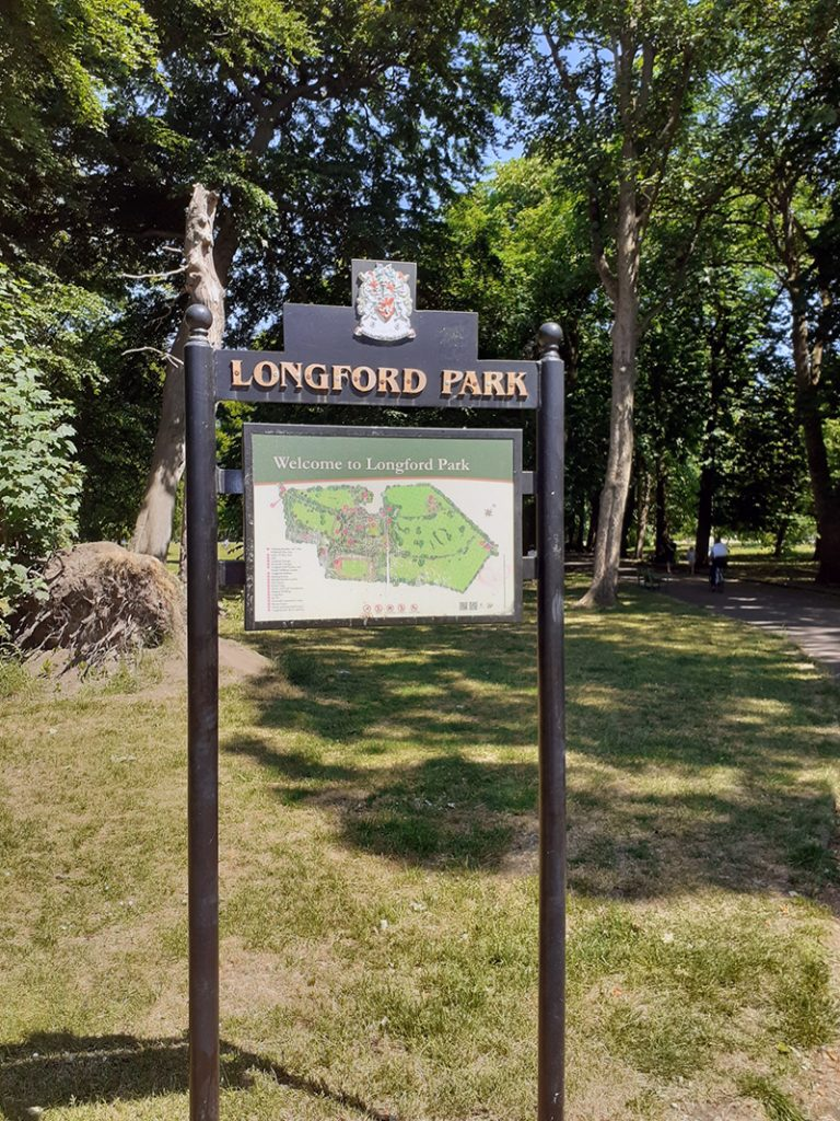 Park Map in Longford Park